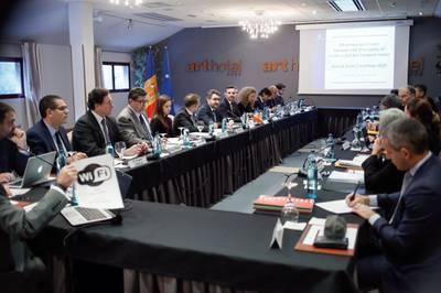 Andorra acull la reunió anual del Comitè Mixt de l'Acord Monetari