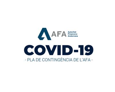 Pla de contingència de l'AFA en relació al COVID-19