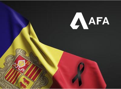 L'AFA s'afegeix a l'homenatge a les víctimes de la COVID-19