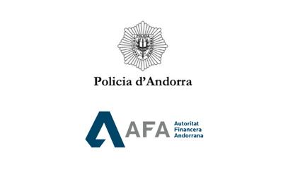 La Policia d'Andorra i l'AFA signen un protocol d'entesa