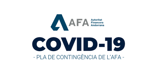 Contingency plan of the AFA as regards COVID-19 emergency