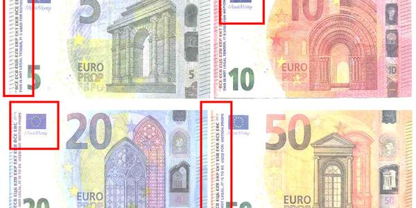 Alerta por la detección de billetes falsos