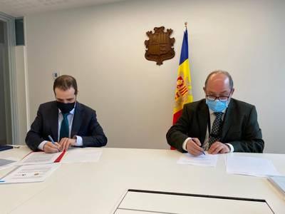 La Fiscalía General del Principado de Andorra y la AFA firman un protocolo de entendimiento