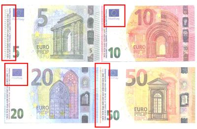 Alerte à la détection de faux billets